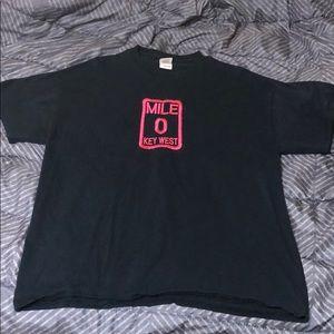 Mile 0 key west shirt